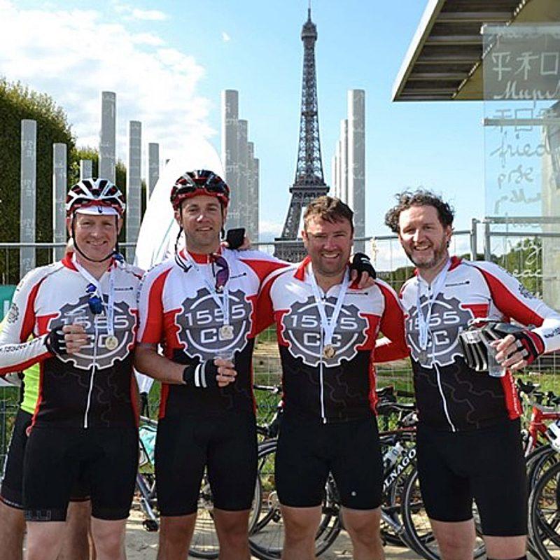 London to Paris Bike Ride 2020